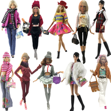 Coat Outfit Doll-Dress Daily-Wear Barbie-Doll-Accessories Baby Toys Fashion for Gift