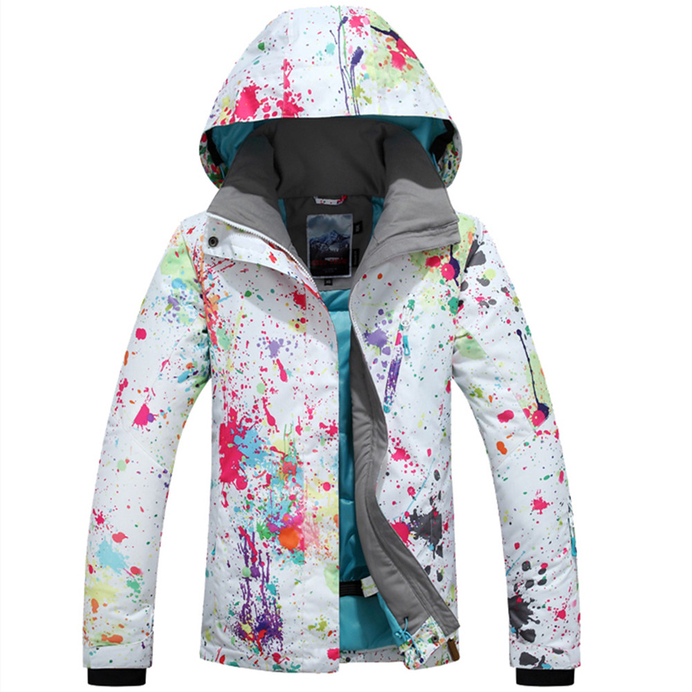 Gsou Snow 2017 new ski jackets and pants wome skiing suit sets snowboarding set windproof waterproof 10k clothes