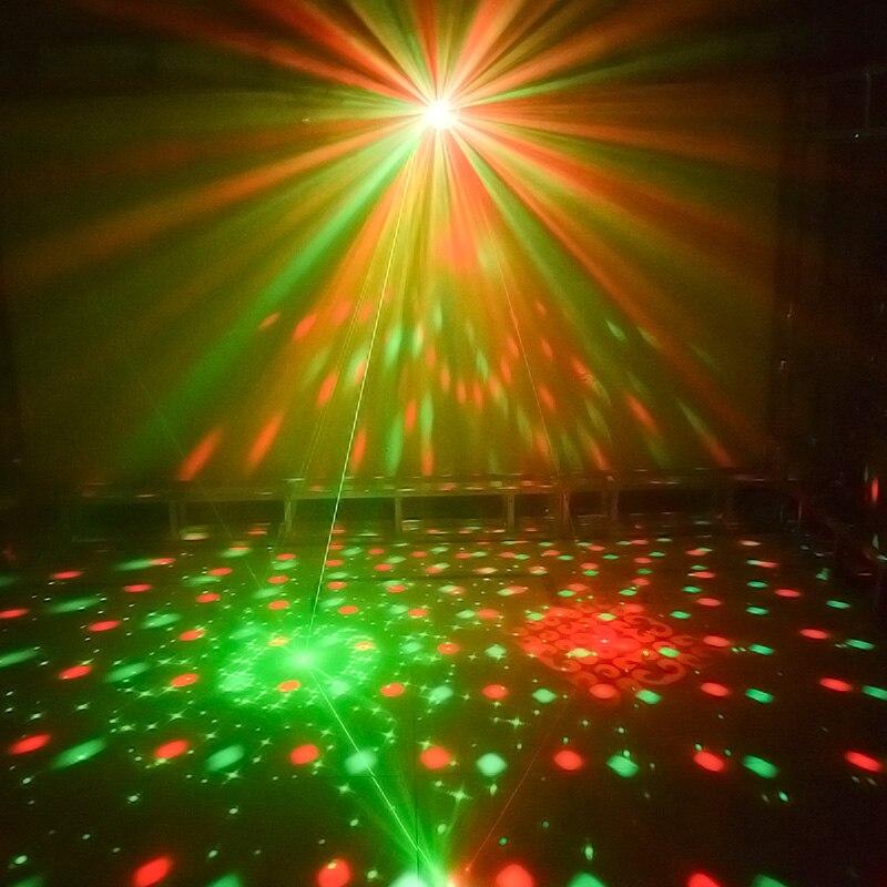 WUZSTAR светодиодный диско шар DJ светильник s сценический декоративный светильник ing Effect RGB DMX лазерный светильник для вечеринки для свадебного ... - 4