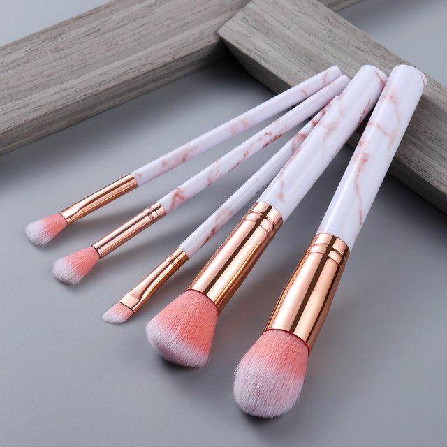 FLD5/15Pcs Makeup Brushes Tool Set Cosmetic Powder Eye Shadow Foundation Blush Blending Beauty Make Up Brush Maquiagem 2
