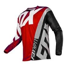 2020 moto rcycleマウンテンバイクチームダウンヒルジャージmtbオフロードdh mx自転車機関車シャツクロスカントリーマウンテンバイクmoto