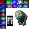 15 цветов светодиодный эффект сценического освещения волны воды DJ диско вечерние хрустальные магический шар лампа проекционный пульт диста...