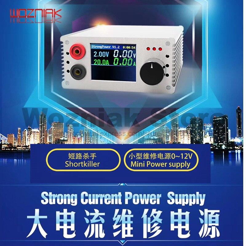 Newest shortkiller pro Mobile phone short circuit repair tool box for motherboard short circuit burning repair tool-in Power Tool Sets from Tools