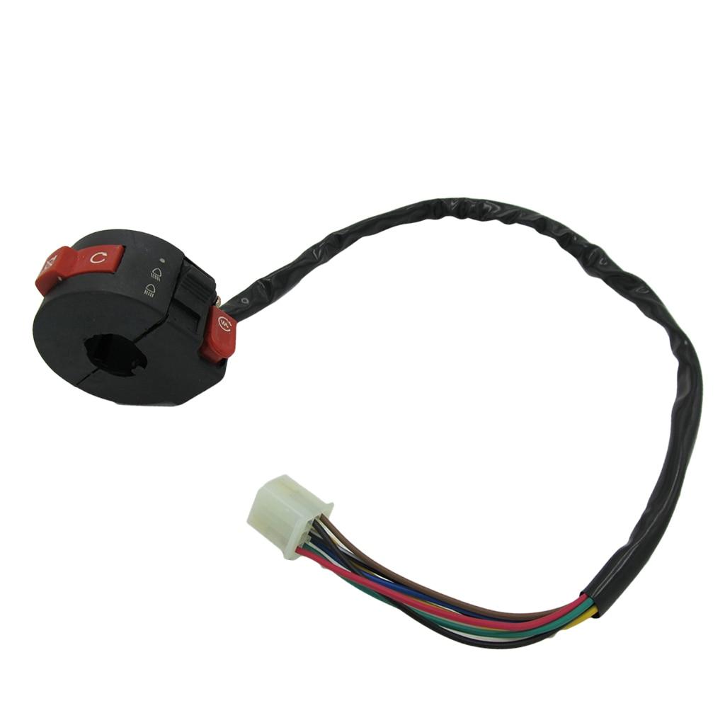 ATV Start Left Handlebar Switch For 125cc 110cc 90cc 70cc 50cc Taotao