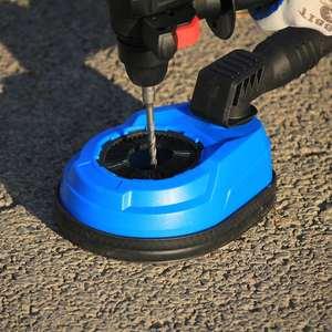 Image 4 - Raizi taladro Universal con cubierta de cubierta para polvo, herramienta para perforación, recolección de polvo, martillo eléctrico rotativo, accesorio para colector de polvo