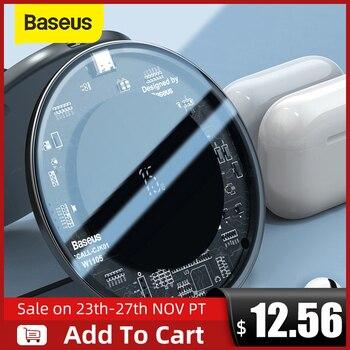 Chargeur+sans+fil+rapide+Baseus+15W+pour+iPhone+12X11+Max+pour+Airpods+Visible+Qi+chargeur+sans+fil+pour+Samsung+S10+S9+Note+10