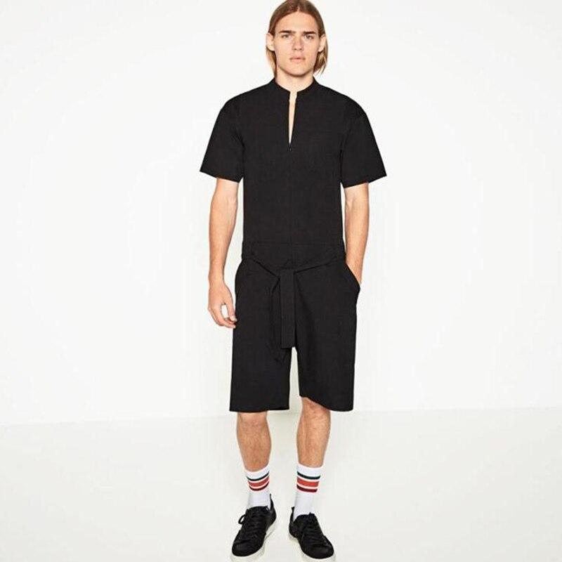 Европа и Соединенные Штаты, уличный стиль, повседневный комбинезон, шорты, комбинезоны, комбинезон, свободные летние мужские штаны, большой