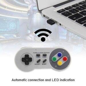 Image 5 - Wireless Gamepad 2.4GHz remote controller SNES USB joystick Console for Nintendo Games for Windows PC Raspberry Pi Retro Pie
