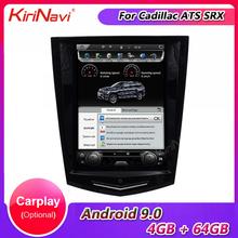 Pionowy ekran w stylu KiriNavi Telsa 10 4 #8222 1 Din Android 9 0 Radio samochodowe dla cadillaca ATS SRX Audio GPS samochodowy odtwarzacz Dvd z nawigacją tanie tanio CN (pochodzenie) Jeden Din 10 4 4*52 128G Jpeg Plastic and hardware Ultra HD IPS 1024*768 Bluetooth Wbudowany gps Ładowarka