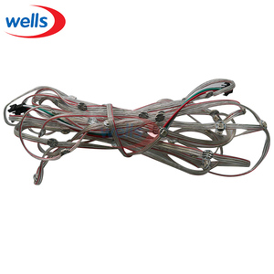 Image 2 - 50x Pre soldered WS2812B LED Heatsink 5V 5050 RGB WS2811 IC Built in & 10cm Wire
