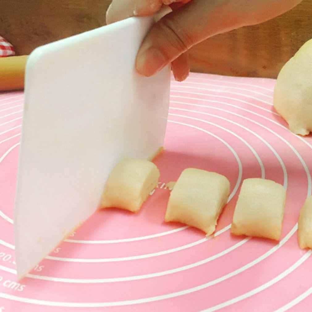 คุณภาพสูงครีมเค้ก Spatula Baking Pastry เครื่องมือ Dough Scraper ครัวมีดเนยเครื่องตัดแป้ง