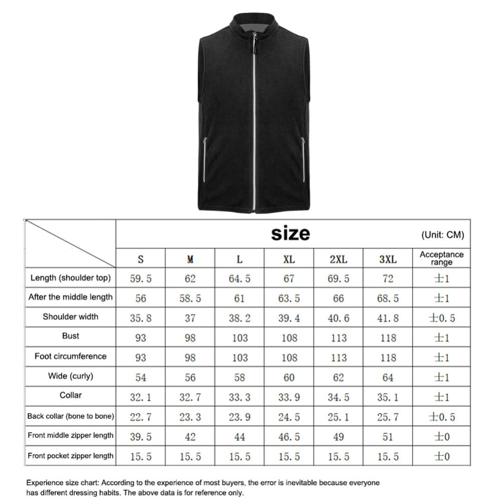 Теплый флисовый Приталенный жилет с подогревом куртка 5 зон