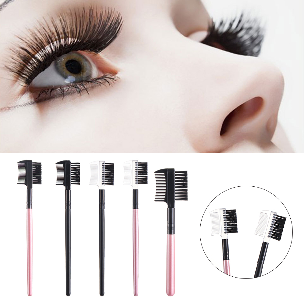 Comb-Tool Eyelash-Comb Eyebrow-Brush Mascara-Separator Professional Women's Fashion 1pc title=