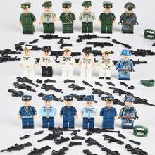 """Новые воздушные наземные морские военные Солдатики """"Special Forces"""" кирпичи фигурки-пистолеты оружие совместимые Legoings Armed строительные блоки детские игрушки"""