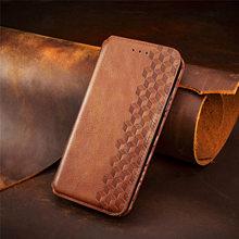 チェッカーレザーフリップ磁気ソニーのxperia 10 5 1 ii財布ブックケースカードスロットカバーfundas coque