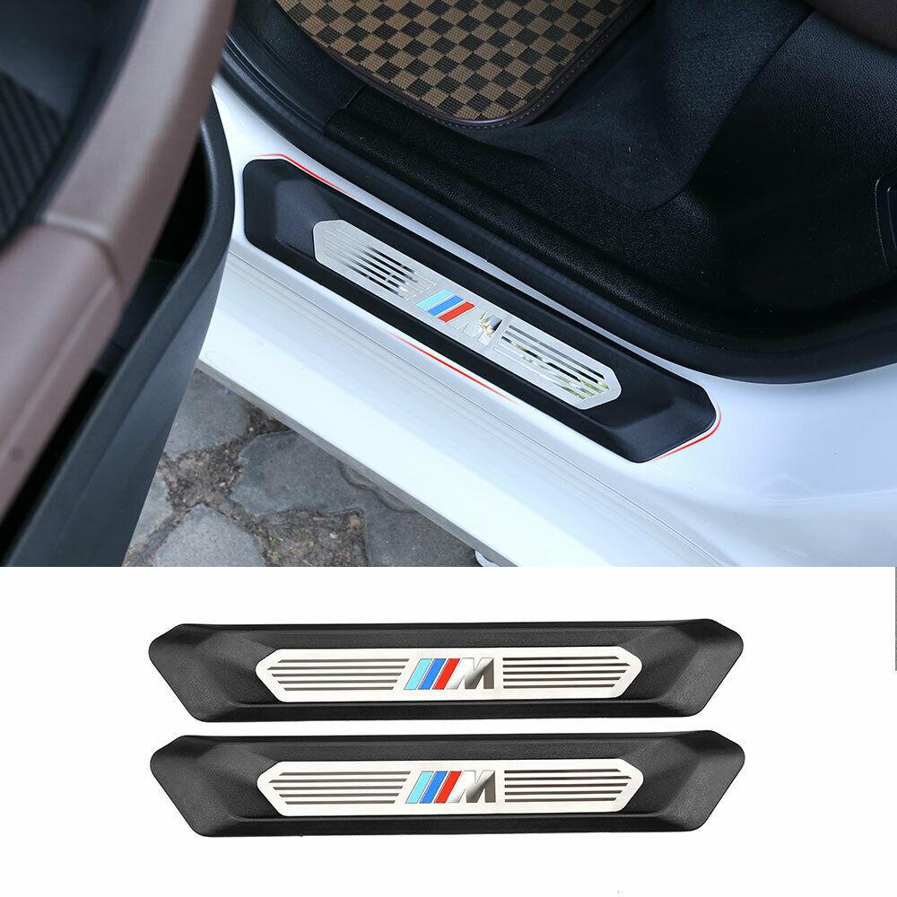 Накладка на порог для BMW X3 G01 X4 G02 2018-2019 с цветным логотипом M3