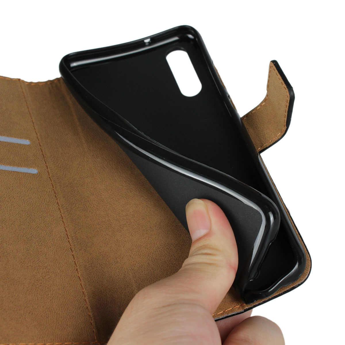 สำหรับ Huawei P20 กรณี HUAWEI Mate 20 กรณี Pro P20 Pro ขนาดกะทัดรัด Slim Card Slot ฝาครอบ Flip Case popsocket สำหรับโทรศัพท์มือถือโทรศัพท์