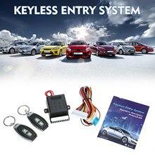 Kit di chiusura centralizzata del sistema di accesso senza chiave del bagagliaio della serratura della portiera dell'auto universale con supporto del telecomando 1 milione di volte di codice