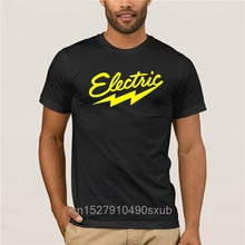 T-shirt à manches courtes pour hommes, Tendance urbaine électrique, cadeau Unique, nouveau Style, nouveauté d'été