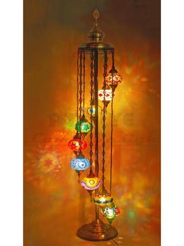 amazing turkish floor lamp,mosaic moroccan handmade vintage stained glass standing lamp,turkish lamp