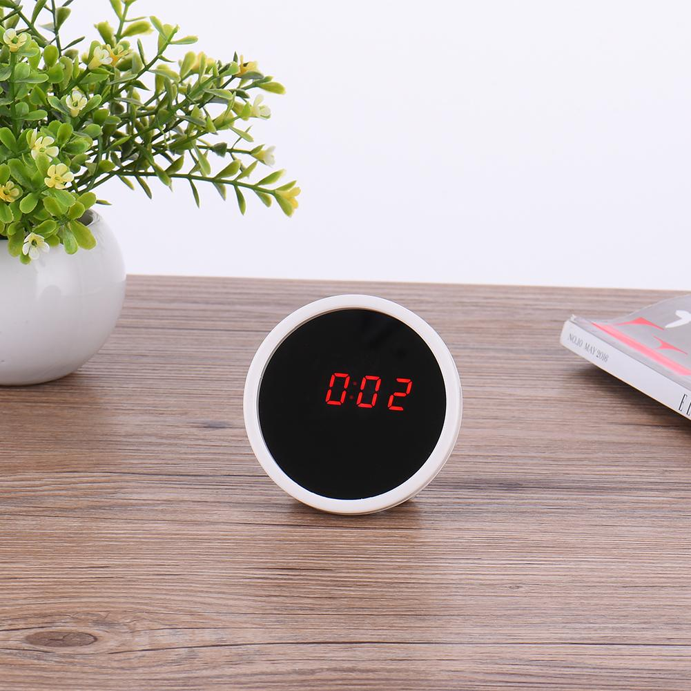 New Hot Multi-function Digital Mirror Alarm Clocks Desk Table Transparent Clocks with Speaker LED Display