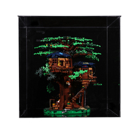 Building Block Acrylic Dustproof Display Box Show Box For 21318 Tree House (Display Box Included Only, No Kit)Children Kids Gift
