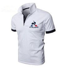 2019 New Fashion Men Polo Shirt Short sleeve le coq Printed Casual Polo Shirts Fashion Tops S-5XL Free Shipping S-5XL цена