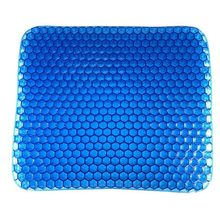 New Car Seat Elastic Mat Gel Cushion Honeycomb Sofa Office Cushion Protection Cervical Spine Summer Cool Breathable Ice Cushion(China)