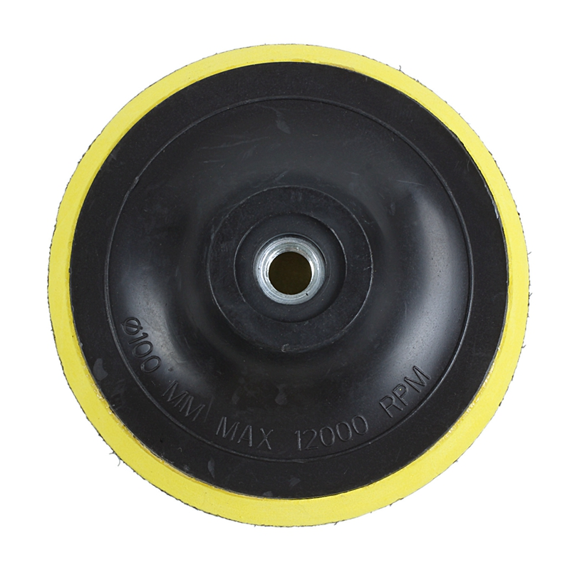 Angle Grinder Sanding Polishing Hook And Loop Backing Pad 4