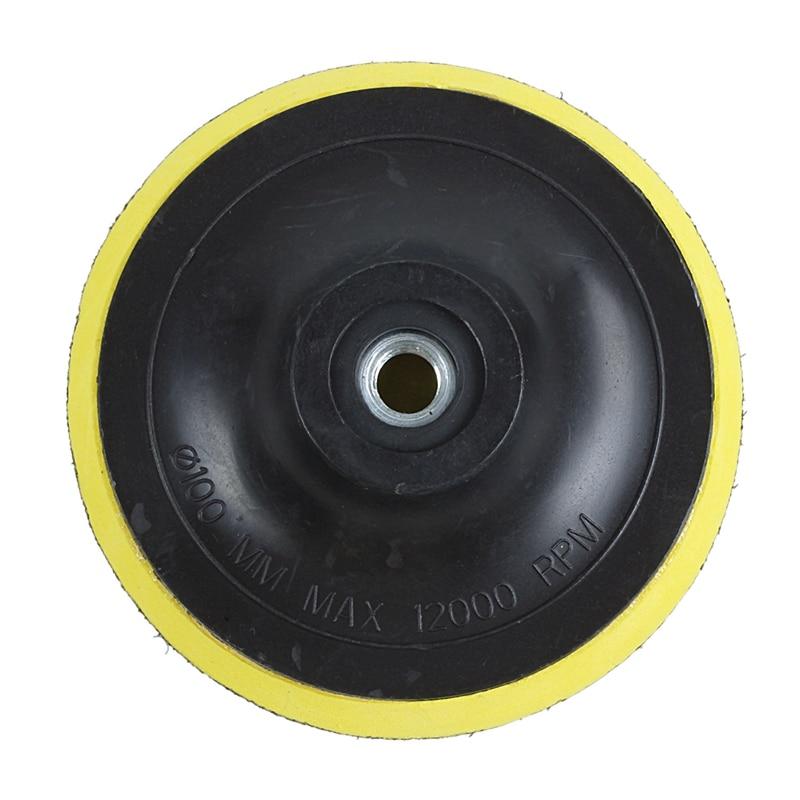 Angle Grinder Sanding Polishing Hook And Loop Backing Pad 4