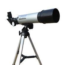 คุณภาพสูงซูม HD Monocular กล้องโทรทรรศน์ดาราศาสตร์แบบพกพาขาตั้งกล้อง Telescopic 360/50mm