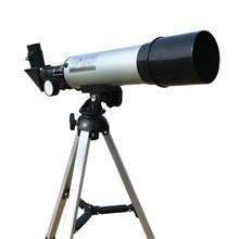 באיכות גבוהה זום HD חיצוני משקפת החלל האסטרונומי טלסקופ עם חצובה ניידת אכון היקף 360/50mm טלסקופים