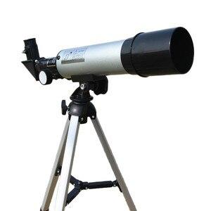 Image 1 - Telescopio astronómico para exteriores Zoom HD de alta calidad, Monocular, con trípode portátil, mira telescópica de 360/50mm