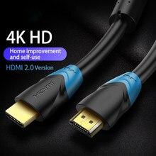 Cable divisor de interruptor 4k HDMI, Adaptador de Audio y vídeo, 1m, 2m, 5m, 10m, 12m, 15m, versión 2,0