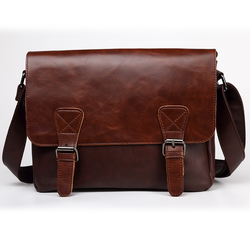Men's Briefcase Luxury Tote Computer-Bag 11inch-Bag Business Casual New Boy Male Fashion