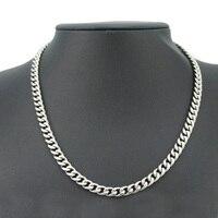 Acier inoxydable hommes colliers or longues chaînes colliers grands bijoux sur le cou steampunk hip hop gros accessoires masculins