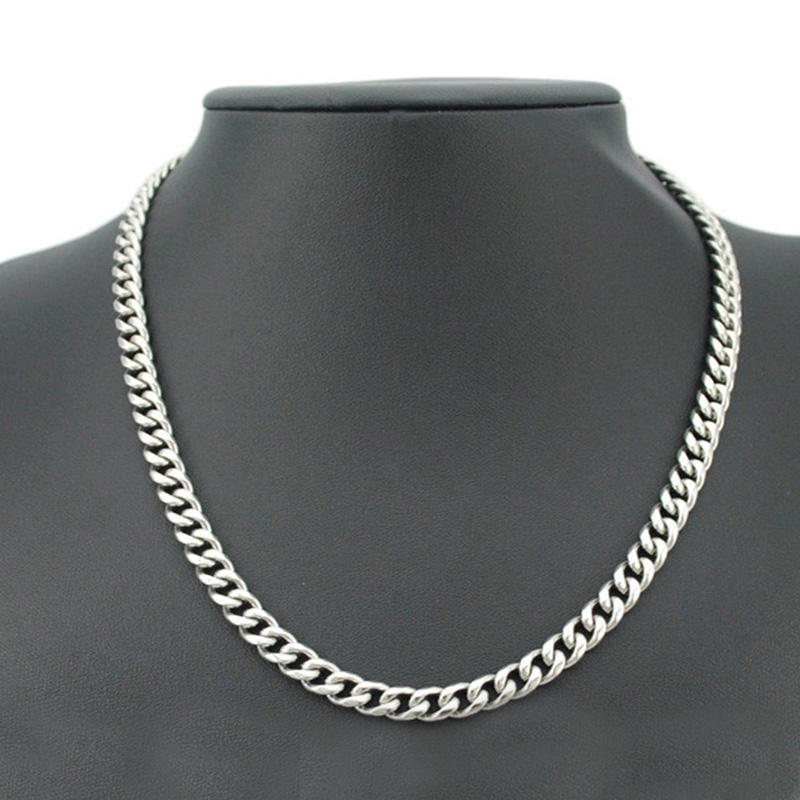 Stainless Steel Mens Necklaces gold long chains necklaces large jewelry on the neck steampunk hip hop wholesale male accessories