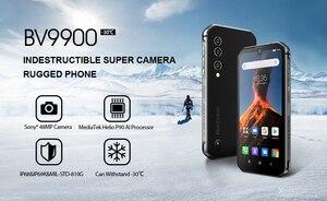 Image 2 - Blackview BV9900 Helio P90 Octa Core 8 + 256GB IP68 Robuste Handy Android 9.0 48MP Quad Hinten Kamera NFC smartphone Globale 4G