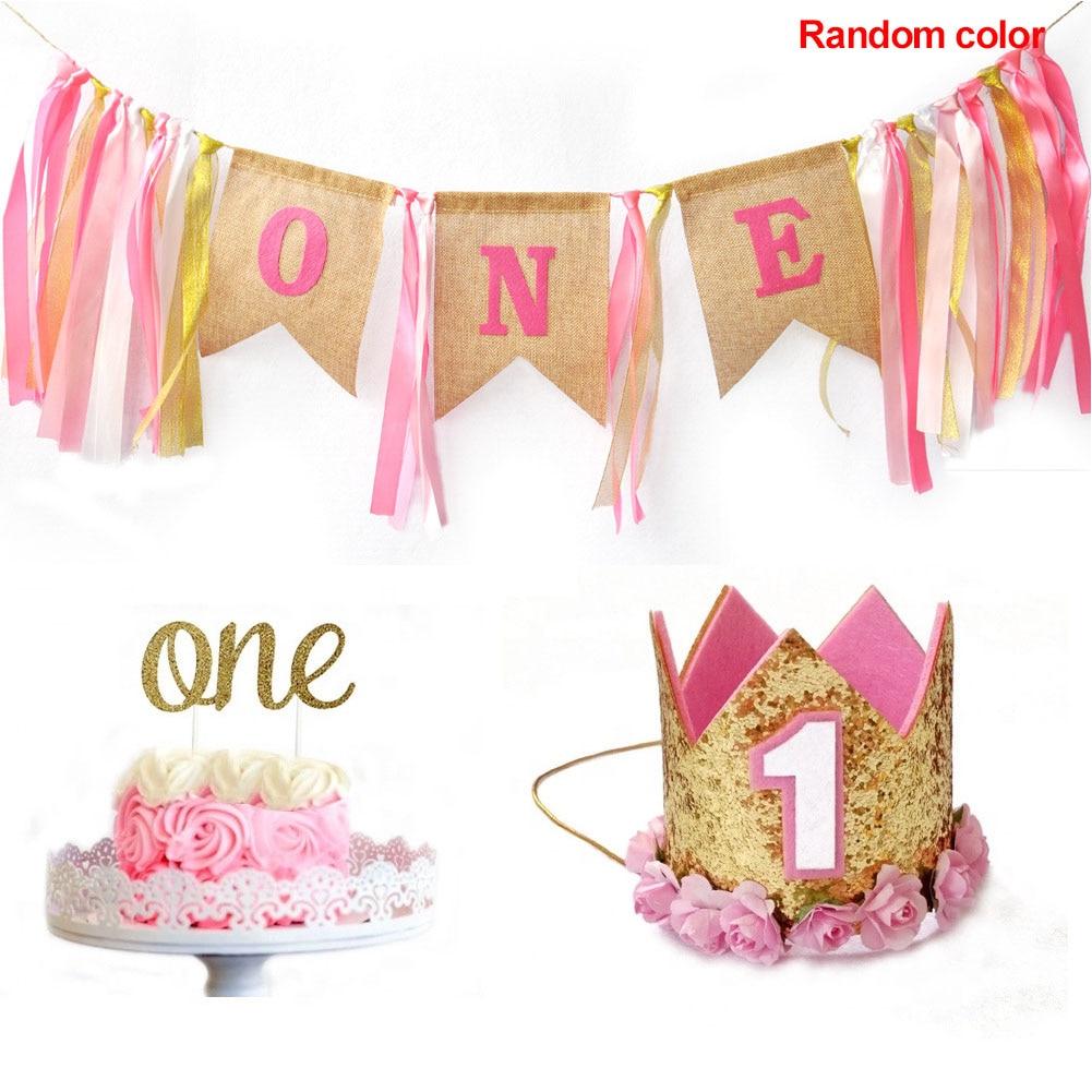 Sensational Letter Cartoon Girl Boy Cake Smash 1St Birthday Decoration With Birthday Cards Printable Trancafe Filternl