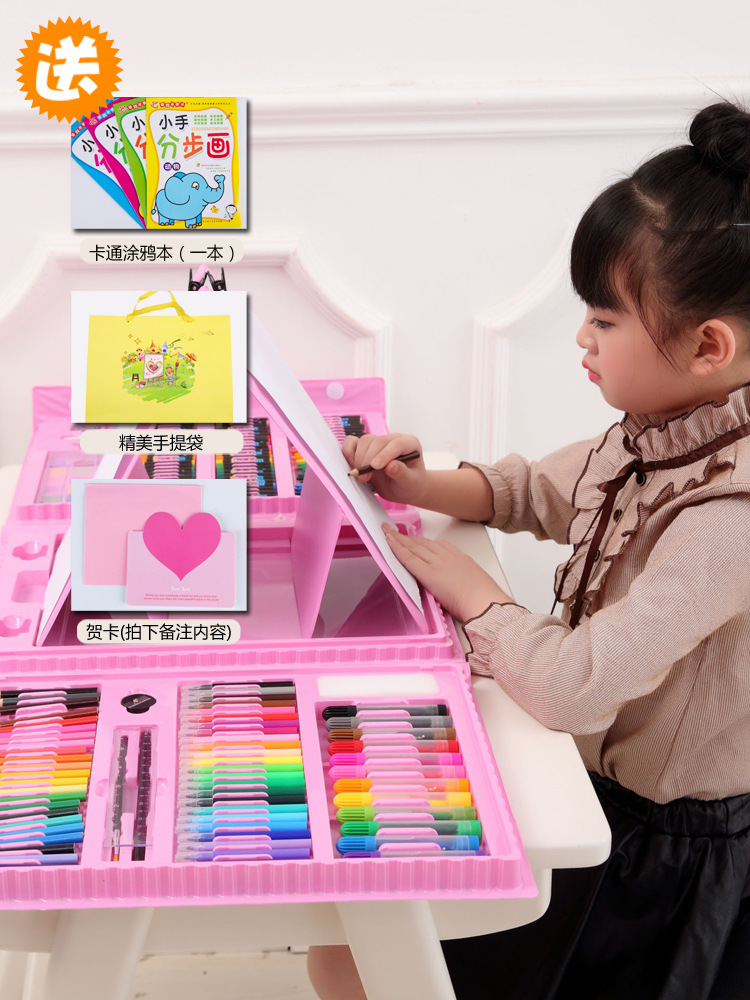 CHILDREN'S Toy Little Girl 3-6 A Year Of Age Educational 4-5 Birthday 7-8-Year-Old Gift 9 Girls Baby Young STUDENT'S Gift