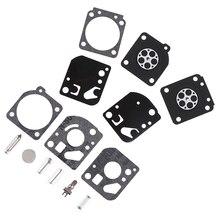 Carburetor-Carb-Gasket Diaphragm Trimmer Ryobi Blower Repair Zama 30cc Fit-For Rebuild-Kit