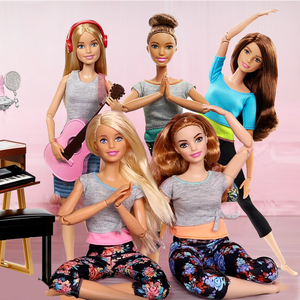 Image 4 - Original Barbie Joined Move YOGA Dolls 18 Inch Bjd 1/4 Body Barbie Baby Dolls Girls Toys for Kids Girl Brinquedos Toys Juguetes