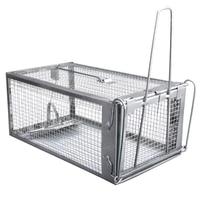 Mouse Rat Trap Cage Live Animal Pest Rodent Mouse Control Bait Catch