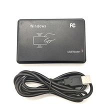 125 khz 13.56 mhz rfid 판독기 usb 근접 센서 스마트 카드 판독기 없음 드라이브 발행 장치 액세스 제어용 usb