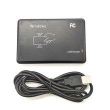 125KHz 13.56MHz RFID okuyucu USB yakınlık sensörü akıllı kart okuyucu sürücü yok verme cihazı USB erişim kontrolü için