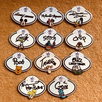 Disney Cartoon odznaka kaczor Donald Tigger puchatek przypinki na plecak na plecaki akrylowa plakietka broszka Kawaii Pin odzież dekoracji
