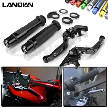 For BMW R1200GS LC ADV Motorcycle CNC Brake Clutch Lever & 7/8 22MM Handlebar Grips Adventure / 2013-2018 Accessories