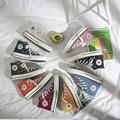 Классическая парусиновая обувь в стиле ретро; женская обувь; коллекция 1970 года; Тканевая обувь с высоким берцем в Корейском стиле; Повседнев...