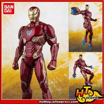 100% Original BANDAI Tamashii Nations S.H.Figuarts (SHF) Action Figure - Iron Man Mark50