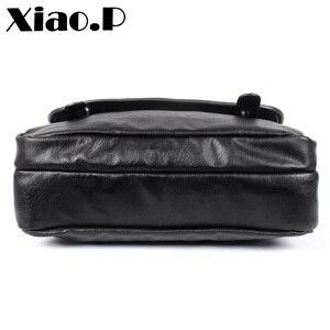 Image 3 - Yeni tasarım erkek çanta, yüksek kaliteli pu deri postacı çantası, moda çapraz vücut çanta, rahat öğrenciler bir omuz okul çantası